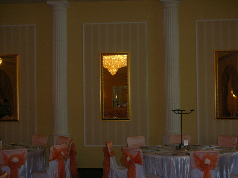 Turabo Grand Ballroom Silver Decor